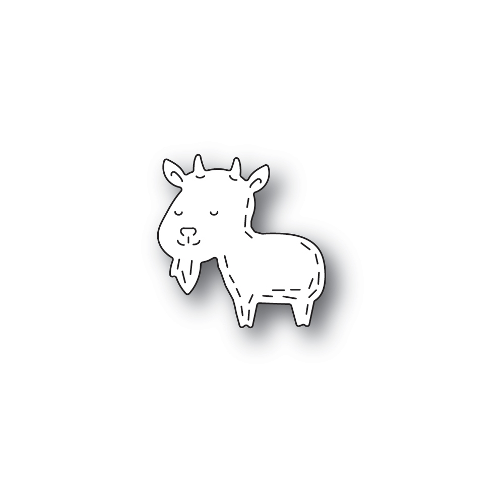 Poppy Stamps WHITTLE GOAT Craft Dies 2441 zoom image