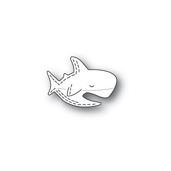 Poppy Stamps WHITTLE SHARK Craft Dies 2432