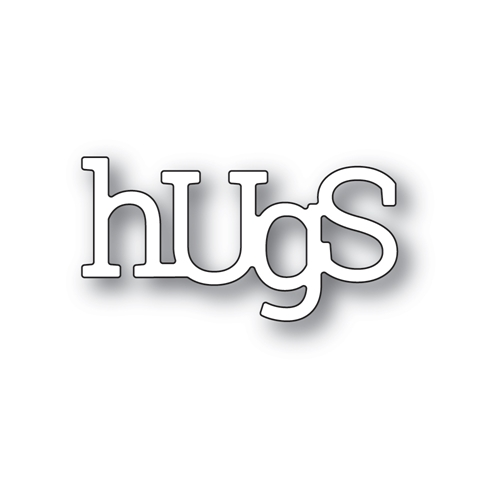 Poppy Stamps PLAYFUL HUGS Craft Dies 2407 Preview Image