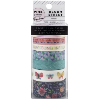 American Crafts Paige Evans BLOOM STREET Washi Tape 310974