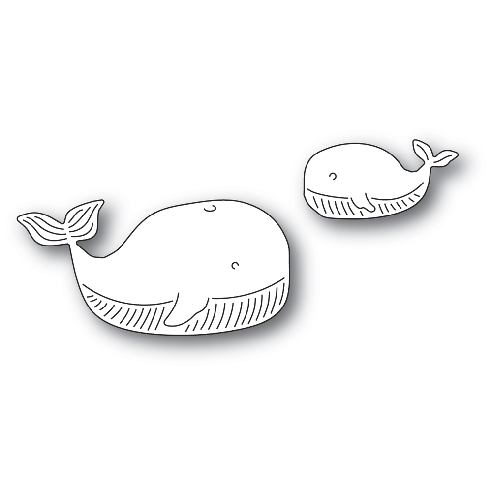 Memory Box WHALE FAMILY Craft Dies 94573 zoom image