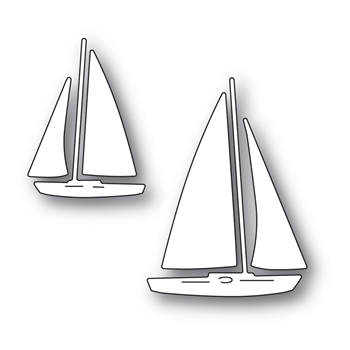 Memory Box MARINA SAILBOATS Craft Dies 94575