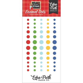 Echo Park I LOVE SCHOOL Enamel Dots sch243028