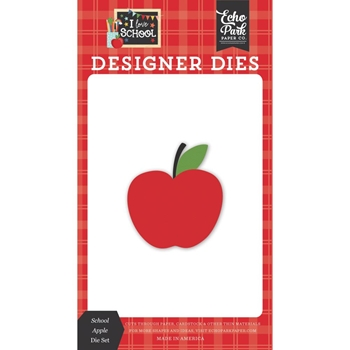 Echo Park SCHOOL APPLE Die Set sch243040