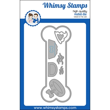 Whimsy Stamps SLIMLINE DOG BONE Dies WSD539