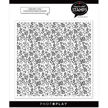 PhotoPlay DELICATE VINES BACKGROUND Clear Stamp sis2694