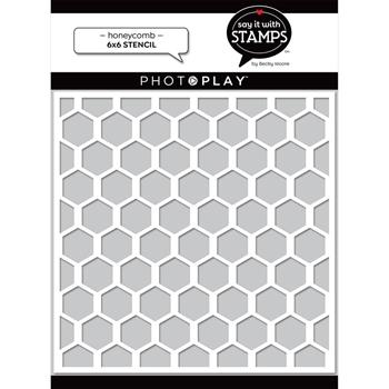 PhotoPlay HONEYCOMB Stencil sis2711