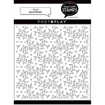 PhotoPlay FLORAL Stencil sis2712