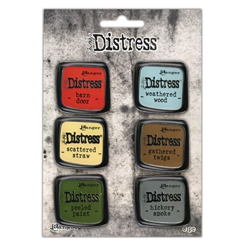 Tim Holtz Distress Enamel Pin SET 7 Ranger tdzs73499