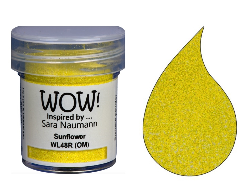 WOW Embossing Powder SUNFLOWER COLOR BLEND WL48R zoom image