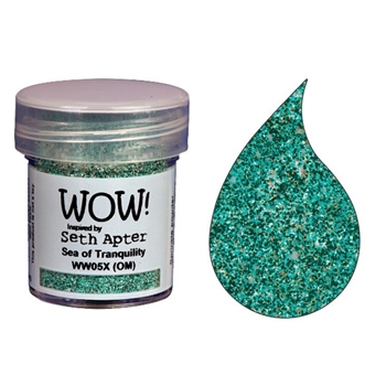 WOW Embossing Powder SEA OF TRANQUILITY WW05X