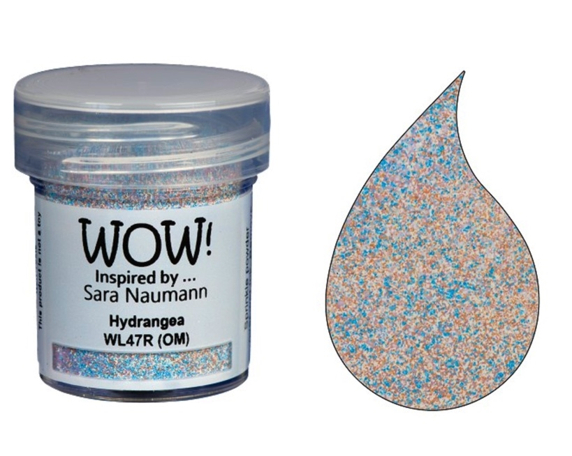 WOW Embossing Powder HYDRANGEA COLOR BLEND WL47R zoom image