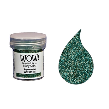 WOW Embossing Powder AQUAMARINE WS256R