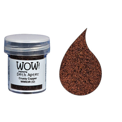 WOW Embossing Powder CRUSTY COPPER WW03R Preview Image