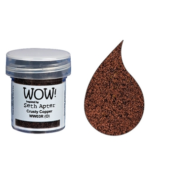 WOW Embossing Powder CRUSTY COPPER WW03R