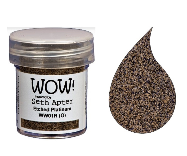 WOW Embossing Powder ETCHED PLATINUM WW01R zoom image