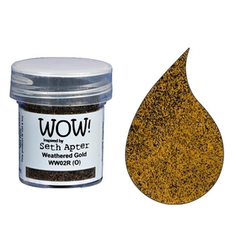 WOW Embossing Powder WEATHERED GOLD WW02R