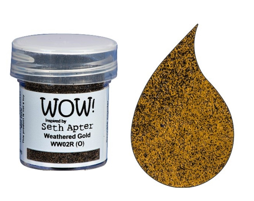 WOW Embossing Powder WEATHERED GOLD WW02R zoom image