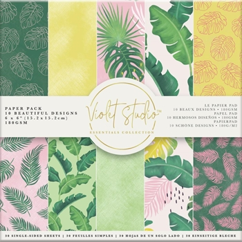 Crafter's Companion TROPICAL 6 x 6 Paper Pad vsppk003