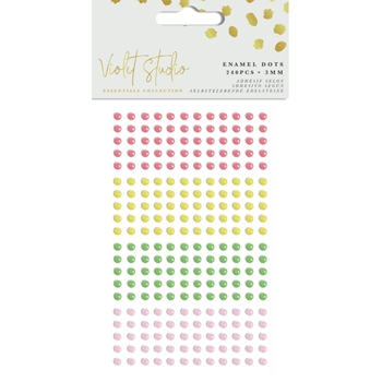 Crafter's Companion TROPICAL Enamel Dots vssum005
