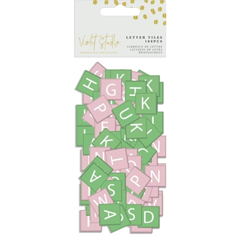 Crafter's Companion TROPICAL Letter Tiles vssum013