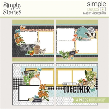 Simple Stories FARMHOUSE GARDEN Page Kit 15032