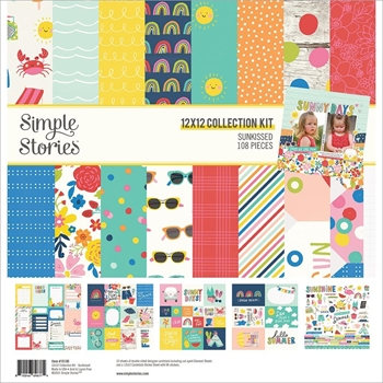 Simple Stories SUNKISSED 12 x 12 Collection Kit 15100