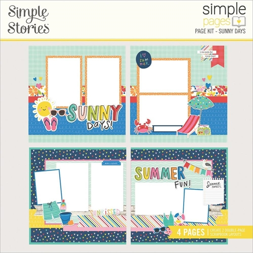 Simple Stories SUNKISSED Page Kit 15127 Preview Image