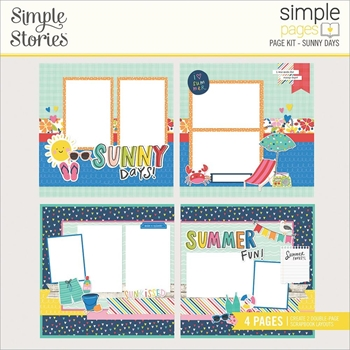 Simple Stories SUNKISSED Page Kit 15127