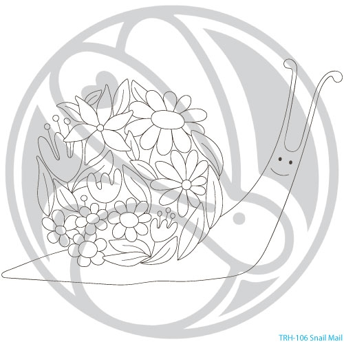 The Rabbit Hole Designs SNAIL MAIL Clear Stamps TRH 106 Preview Image