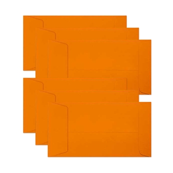 Simon Says Stamp Envelopes MINI SLIMLINE ORANGE PEEL Open End sss87 Born To Sparkle