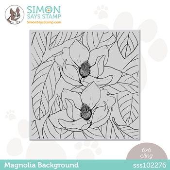 Simon Says Cling Stamp MAGNOLIA BACKGROUND sss102276 Born To Sparkle