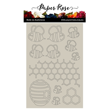 Paper Rose BEE HIVE Chipboard 22012