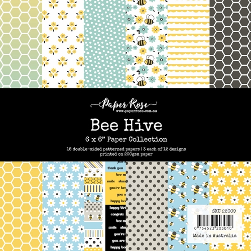 Paper Rose Bee Hive paper collection