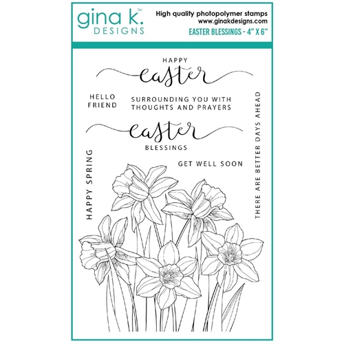 Gina K Designs EASTER BLESSINGS Clear Stamps gkd0102 Preview Image