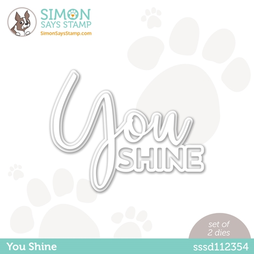 Simon Says Stamp YOU SHINE Wafer Dies sssd112354 Born to Sparkle Preview Image