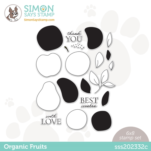 Simon Says Clear Stamps ORGANIC FRUITS sss202332c Born To Sparkle Preview Image