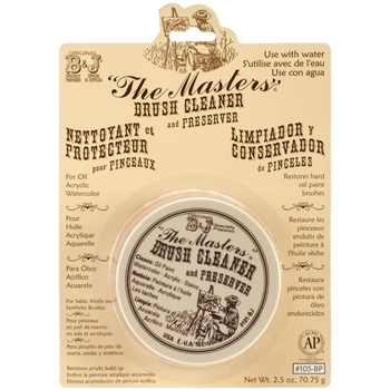 The Master's BRUSH CLEANER AND PRESERVER 105bp
