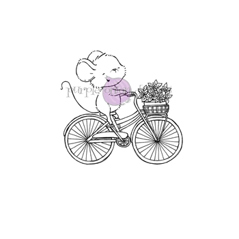 Purple Onion Designs ANNA Cling Stamp pod1230