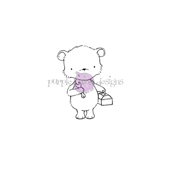 Purple Onion Designs MILTON Cling Stamp pod1226