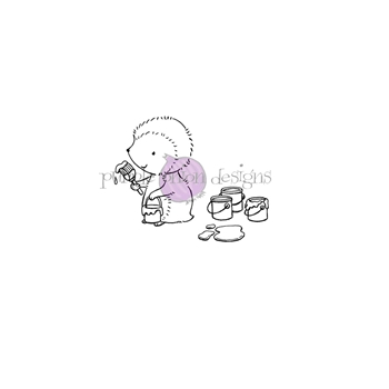 Purple Onion Designs POLLY Cling Stamp pod1227