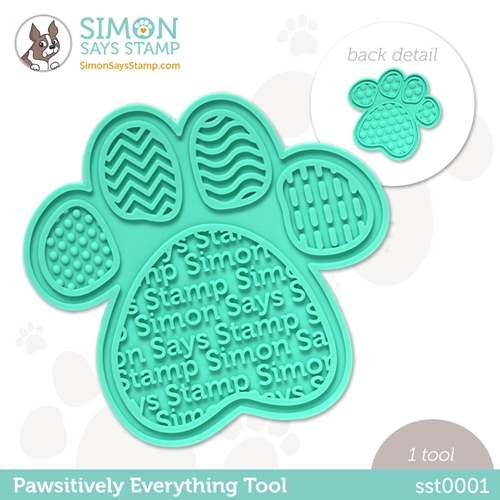 Simon Says Stamp PET PAWSITIVELY EVERYTHING TOOL st0001 Born To Sparkle Preview Image
