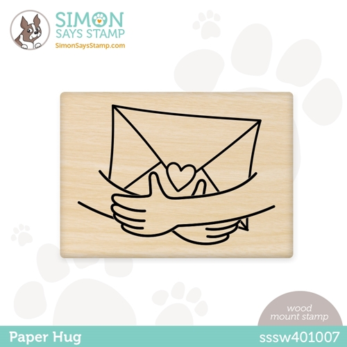 Simon Says Wood Stamp PAPER HUG sssw401007 Born To Sparkle Preview Image