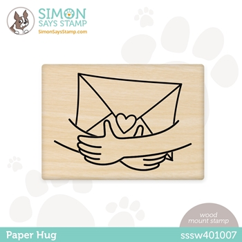 Simon Says Wood Stamp PAPER HUG sssw401007 Born To Sparkle