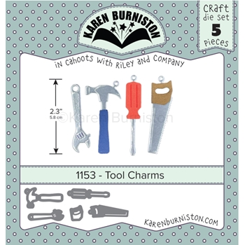 Karen Burniston TOOLS CHARMS Die Set 1153