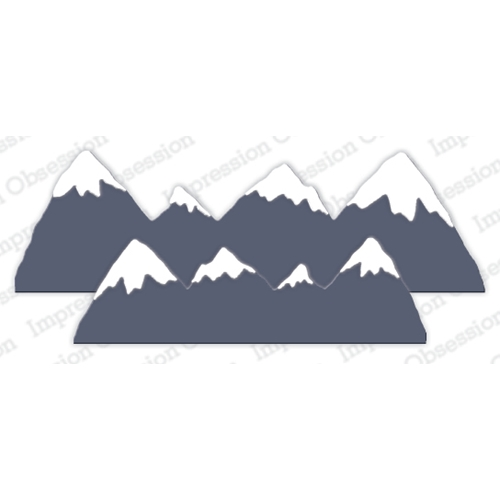 Impression Obsession SNOW CAPPED MOUNTAINS Dies DIE1065 Z Preview Image