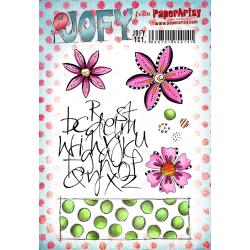 Paper Artsy JOFY 101 Cling Stamps jofy101 Preview Image