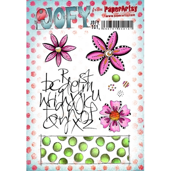 Paper Artsy JOFY 101 Cling Stamps jofy101