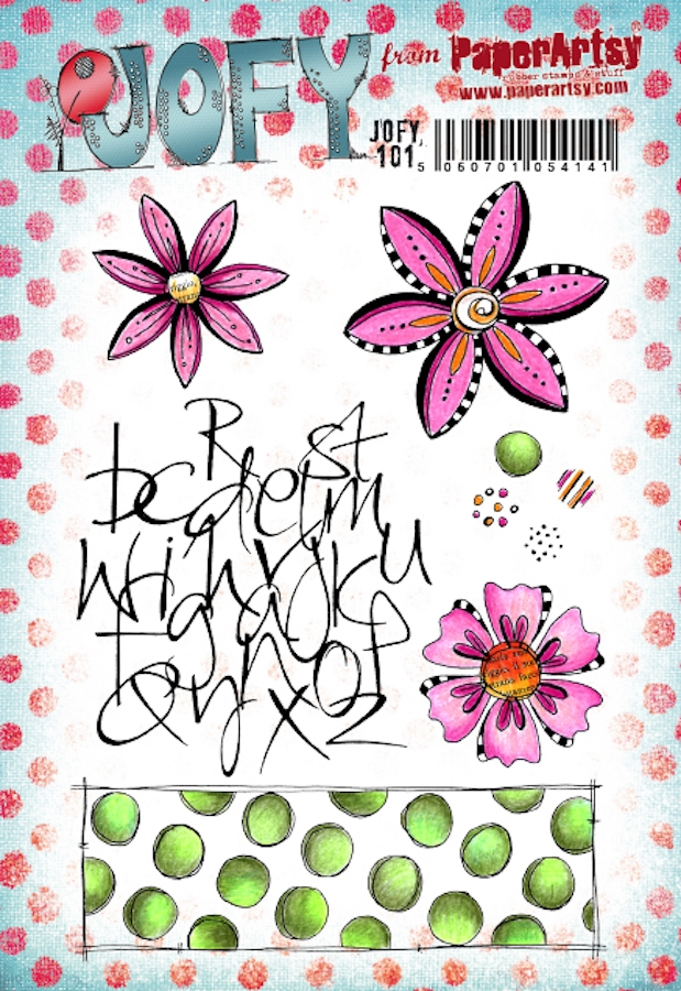 Paper Artsy JOFY 101 Cling Stamps jofy101 zoom image