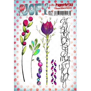 Paper Artsy JOFY 103 Cling Stamps jofy103